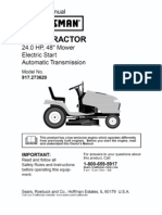 Craftsman 24 Hp 48 Inch Mower Manual
