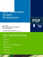 Next Generation System Architecture Hp