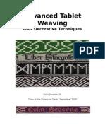 Advanced Tablet Weaving