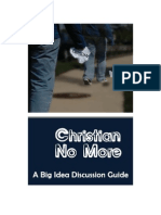 Christian No More - Lessons 1-4
