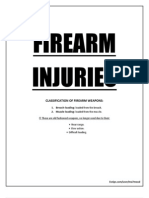 Fire Arm Injuries