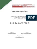 Globalization Final