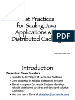 Best Practices for Scaling Java Applications With Distributed Caching