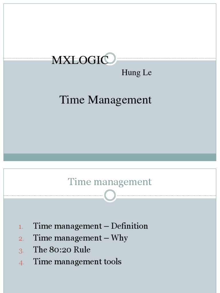 time management | time management | goal setting