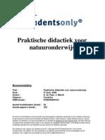 Praktische Didactiek Voor Natuuronderwijs-druk 6-9789046900123