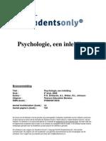 Psychologie Een Inleiding-druk 6-9789043015639