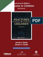 [Beaty & Kasser] Rockwood & Wilkins' Fractures in Children (5th Edition)