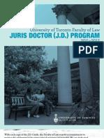 JD Program GuideUofT