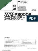 AVM-P 8000 CRT2519