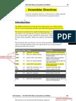 Assembler Directives Manual