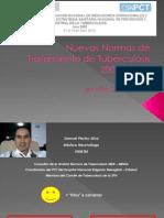 Nuevas Normas de Tratamiento de Tuberculosis - Versión Corta