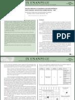 Artigo - Reestr. Urbana Frutal - Publicado - Ix Enanpege 2011