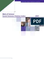 Revistas en Social Sciences Citation Index