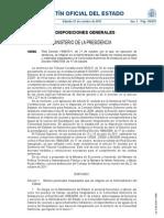 RD 1498/2011 REVERSIÓN GUADALQUIVIR
