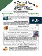 Newsletter Autumn9 2011
