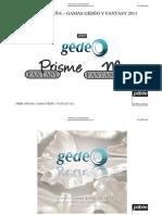 Dossier Gedeo y Fantasy 2011