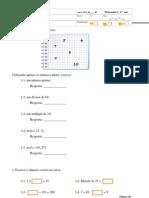 Diagnóstico Matemática 6ºAno