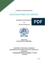 Inplant Training Report (2)