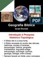 Geografia política do Mundo contemporâneo da Bíblia