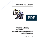 Software Requirements Specification Library Management System