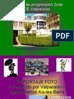 PPT Correccion Reportaje Recorrido Por Valparaiso