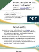 Informe ¿Tienen espíritu emprendedor los Xpats en España? (2011)