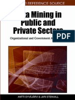Data Mining in Public and Private Sectors