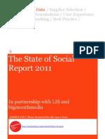 SAMPLE State of Social Report 2011