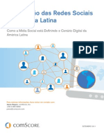 Latin America Social Networking Study 2011 Final Portuguese