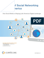 Latin America Social Networking Study 2011 Final English