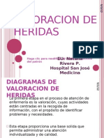 VALORACION DE HERIDAS