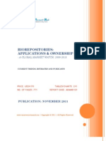 Bio Repositories - Applications & Ownership, 2009-2015 - Broucher