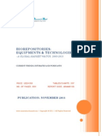 Bio Repositories - Equipments & Technologies, 2009-2015 - Broucher