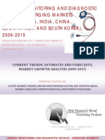 Cardiac Monitoring and Diagnostic Devices - Emerging Markets BRICSS, 2009-2015
