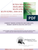 Embolic Protection Devices (EPD) - Emerging Markets BRICSS, 2009-2015