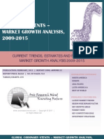 Global Coronary Stents - Market Growth Analysis, 2009-2015