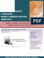 Global Diagnostic Electrophysiology Catheters - Market Growth Analysis, 2009-2015