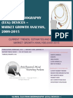 Global Electrocardiography Devices (ECG) - Market Growth Analysis, 2009-2015