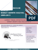 Global Peripheral Vascular Devices - Market Growth Analysis, 2009-2015