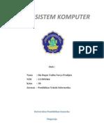 Dasar Sistem Komputer by Yudha