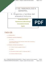 - 3.Organos y Tejidos Del Sistema Inmune