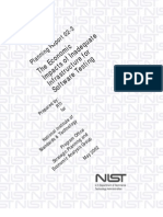 NIST - The Economic Impacts of Inadequate Software Infrastructure Testing - 2002-05 - Report 02-3