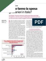 Come Fanno La Spesa Gli Stranieri in Italia