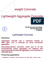 9. Lightweight Concrete