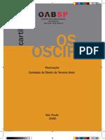 Cartilha OABSP Sobre OS e OSCIP