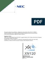 Nec Xn120 20p Box Guide