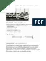 Tuberia Hidraulica de Pvc