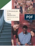 Religião 150, O Evangelho e a Vida Produtiva - Manual do Aluno