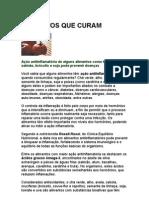 Alimentos Que Curam - Jornal de Jundiaí - Nutrição - Dieta Antiinflamatória - ômega-3