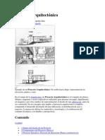 Proyecto arquitectónico